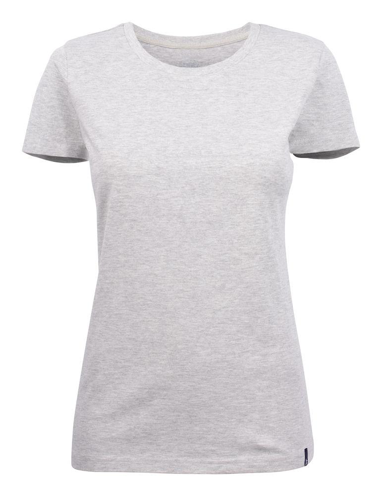 Bedrukt dames T-shirt met logo