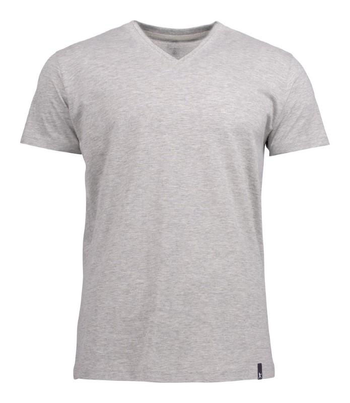 Bedrukt T-shirt Vneck met logo!