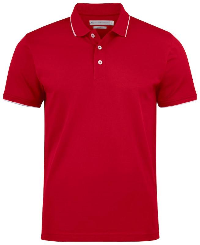 Polo shirt met bedrukking